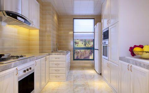 厨房橱柜现代简约风格装饰设计图片
