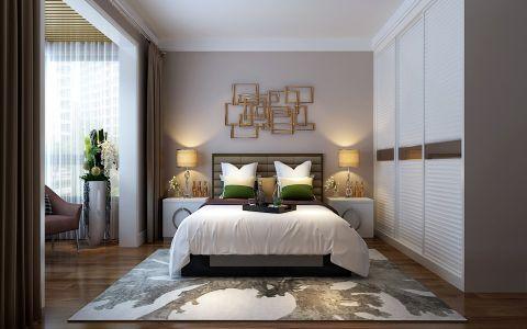 卧室衣柜现代简约风格效果图