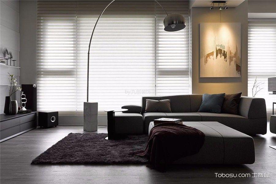 唐山尚诚国际120平米现代风格效果图