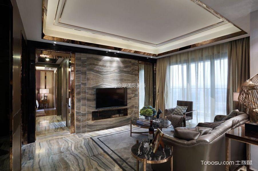4万预算90平米公寓装修效果图