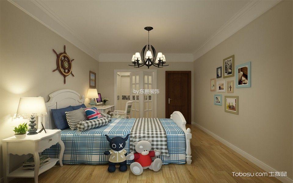 卧室米色照片墙简欧风格装饰效果图