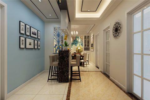 玄关吧台简欧风格装饰设计图片