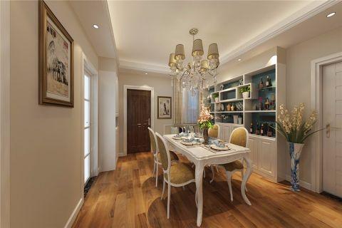 金葡萄家园美式风格三居室装修效果图