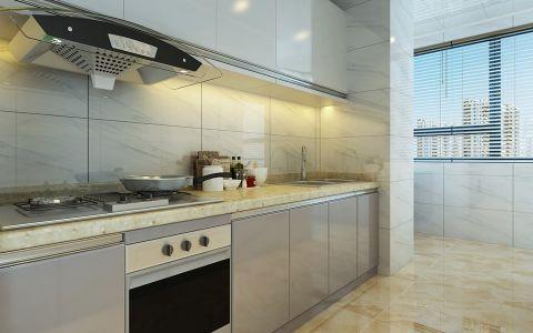 厨房窗帘现代简约风格装修效果图