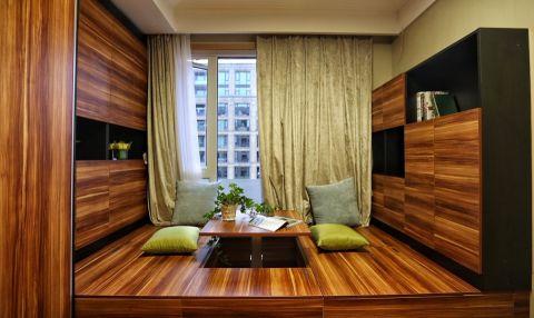 阳台榻榻米现代简约风格装潢设计图片
