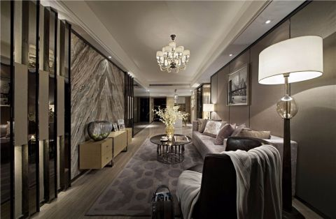 10.6万预算120平米三室两厅装修效果图