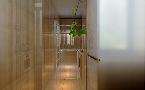 厨房黄色橱柜现代简约风格装潢设计图片