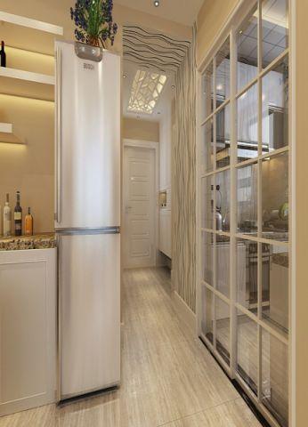 玄关吊顶现代简约风格装潢设计图片