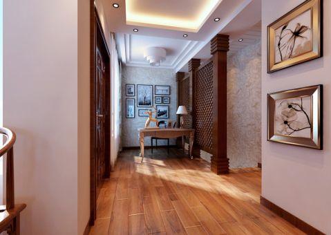 玄关米色走廊简中风格装潢图片