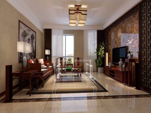 22万预算140平米四室两厅装修效果图
