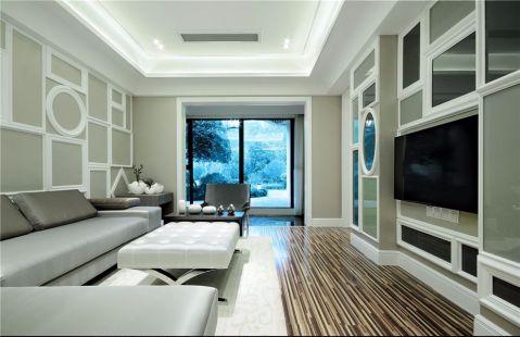 9.6万预算110平米两室两厅装修效果图