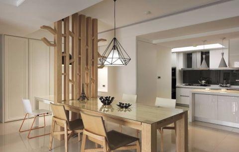 厨房吧台现代简约风格装潢设计图片