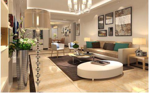 客厅沙发简约风格装饰效果图