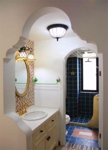 卫生间吊顶美式风格装修设计图片