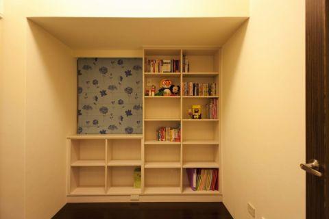 书房书架现代简约风格装饰设计图片