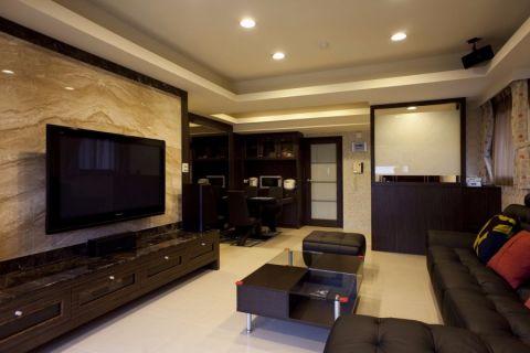 18万预算140平米三室两厅装修效果图