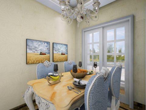 餐厅背景墙欧式风格装饰图片