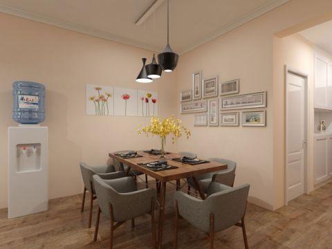 餐厅照片墙田园风格效果图