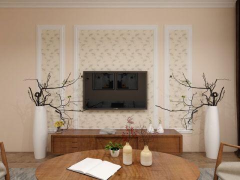 8万预算100平米两室两厅装修效果图