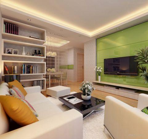 9.75万预算120平米三室两厅装修效果图