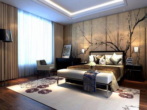 首创国际公寓中心新古典风格效果图