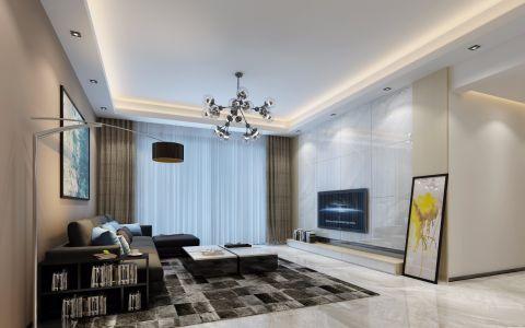 10万预算120平米套房装修效果图