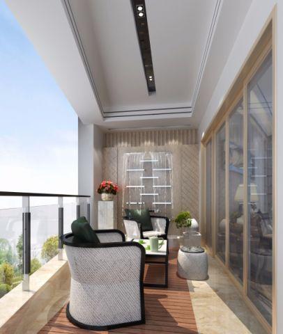 阳台沙发简欧风格效果图