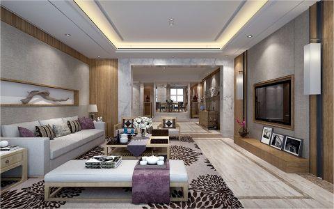 20万预算160平米别墅装修效果图