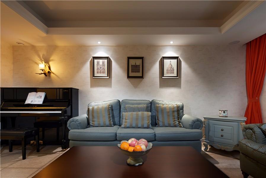 3室2卫1厅120平米美式风格