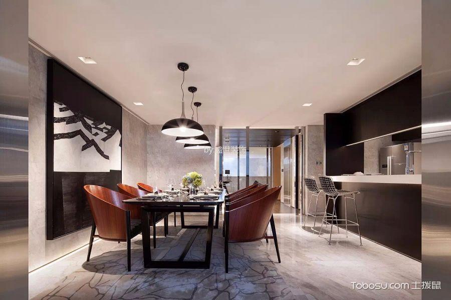 新融金城湾三居室中式风格效果图