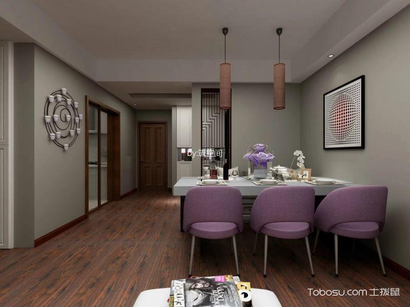上海中海悦府(公寓)90平米北欧风格效果图