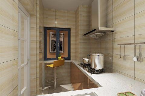 厨房吧台简约风格装饰图片