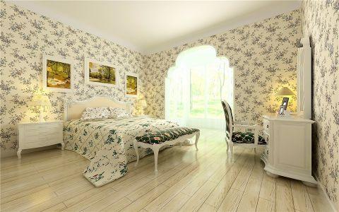 卧室梳妆台田园风格装饰设计图片