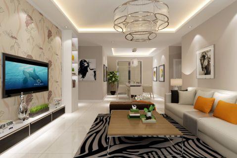 客厅电视柜现代简约风格效果图