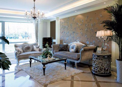 20万预算140平米三室两厅装修效果图