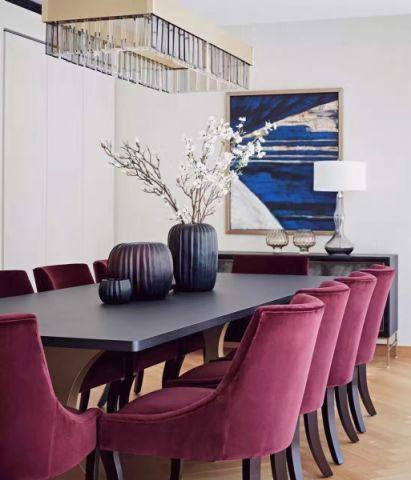 餐厅背景墙现代风格装修效果图