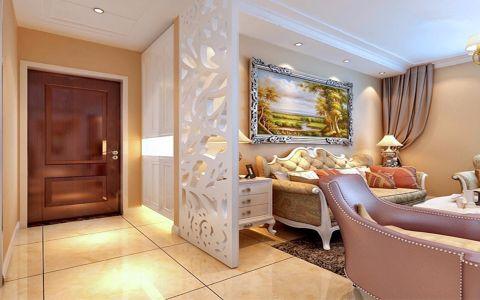 玄关隔断欧式风格装饰设计图片