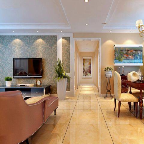 客厅走廊欧式风格效果图