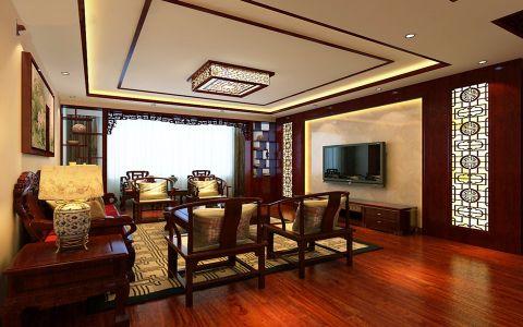 11万预算160平米四室两厅装修效果图