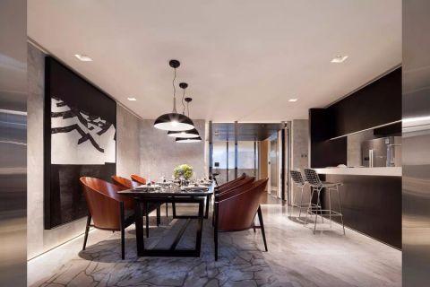 21万预算140平米三室两厅装修效果图