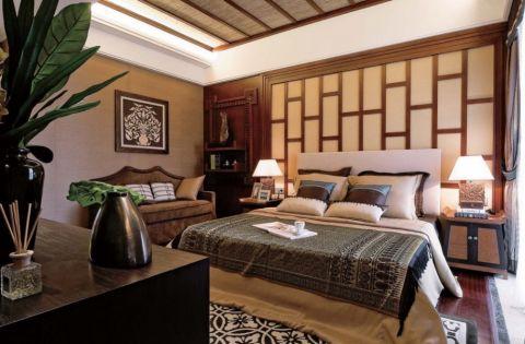 碧水庄园500平东南亚风格效果图