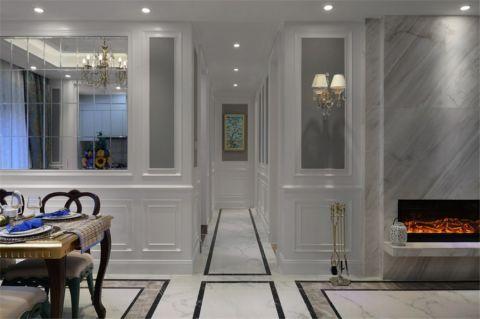 客厅走廊法式风格装修效果图
