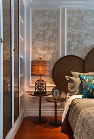 卧室细节混搭风格装饰效果图