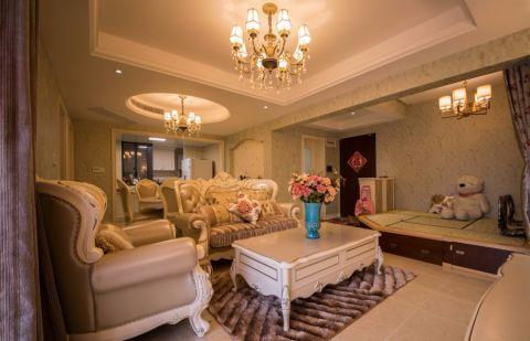 11万预算86平米三室两厅装修效果图