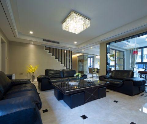 17万预算140平米三室两厅装修效果图