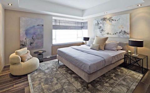 卧室背景墙后现代风格装修效果图