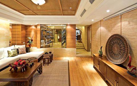 客厅背景墙东南亚风格装修效果图