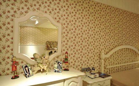 卧室梳妆台美式风格装潢图片