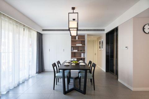 餐厅吊顶混搭风格装潢设计图片