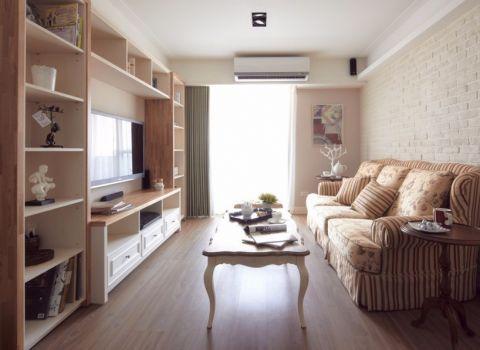 9万预算110平米一居室装修效果图